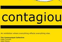 Contagious Exhibition Artwork / Contagious Exhibition Artwork