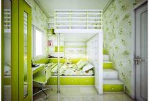 snové bydlení - dětské pokoje