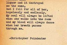 Poetry-  Christopher Pointdexter