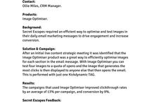 Email Case Studies / Selection of Kickdynamic customers doing great things with live email content.