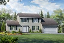 The Brentwood Exterior / by Wayne Homes