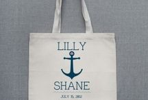 Welcome Bag for Wedding / Fun ideas for gift bags to have for those guests who are traveling to your wedding day!