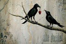 Blackbird - Queen of Dancing Feathers