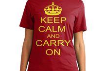 KEEP CALM / Tee Shirt
