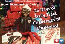 25 Days Of Christmas Tract Challenges - 2015