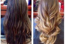 Brown / ombre / balayage
