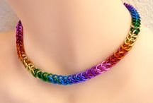 thin rainbow necklace by divulgrd deviantart com o;;;;;;