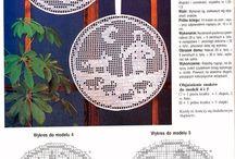 Háčkované dekorace