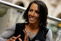 People I've worked witht: Dame Kelly Holmes / A true inspiration and British legend! Opening her artisan café in #Hildenborough in 2014.