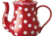 TEA,COFFEE & COCOA POTS / by Marlene Cormier