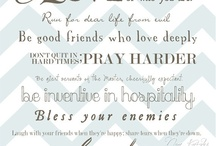 Quotes / by Joanna Brandow
