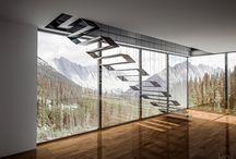 Escalier Design / Découvrez de nombreux exemples d'escaliers design, modernes, contemporains à installer dans votre maison ou votre appartement.