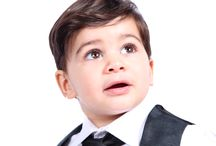 Tiny tux modern formal wear / First holy communion outfits for boys