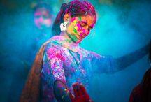 Festival color india
