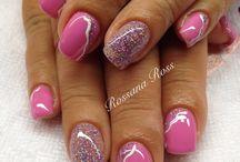 Rosa e glitter / Rosa e glitter