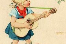 gemalte kinderbilder
