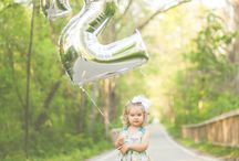 PHOTOGRAPHY: KIDS / Ideas for photo shoots for kids, birthday photograph ideas, toddler photos