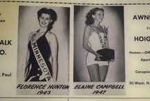 Miss Minnesota 1943, Florence Mary Hunton / Florence competed for Miss America in September 1943.