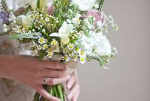Rebecca and Jonny / August 2015 - Quite vintage and rustic.  Mis-matched and very informal.