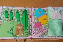 Надо попробовать / Детские развивающие книги из фетра