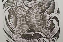 Tattoo design # by estelle