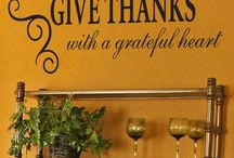 Thanksgiving quotes / Quotes celebrating gratitude, giving thanks, and the Thanksgiving holiday.