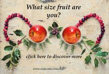 What Size Fruit Are You? / Find out which SodaCoda Silicone Inserts suit your desired look!