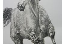 equine Art / running horse