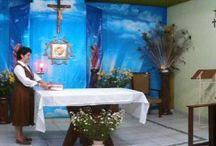 Casa Central / Casa General de la Congregación de las Hermanas Diocesanas de Ntra. Sra. de los Angeles, en Apatzingan, Mich.