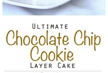 Chokolade chip cookie