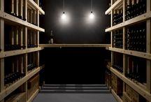 Sandy wine cellar