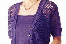 chaleco sin mangas crochet