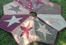 Country tree skirt