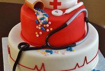 Bolos / Bolos decorativos  para todas as ocasiões: casamentos, aniversários, chás, comemorações da profissão etc! Um mais lindo que o outro!