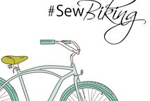 #sewbiking / sewing and handmade projects for cyclists and biking enthusiasts