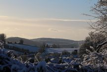 Snowy Mitcheldean / A snowy Mitcheldean, Wednesday 14th January 2015.