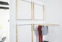 DIY instant laundry drying room