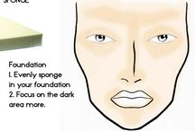 Makeup tips & products
