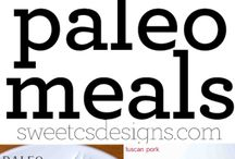 PALEO MEAL IDEAS