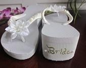 Wedding Flip Flops / by Heather Gaffin