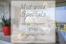 Dash Apartment | Specials / Browse this board for our latest SPECIALS! www.dashapartments.co.za