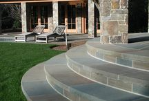 Bluestone / Connecticut Bluestone introduces a quality of quiet confidence displaying a sophisticated but relaxed style.