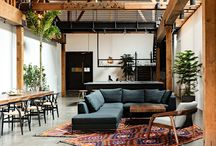 Lofty Goals / Interior design for lofts. / by Diona Devincenzi
