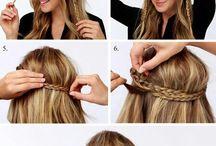Tyttojen hiukset & kampaukset