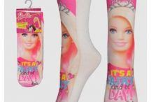 Skarpetki Barbie