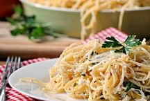 ♥ Food ♡ Pasta and Casseroles
