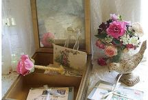 Vintage Love Letters / Vintage romance–frenchpapermoon.com