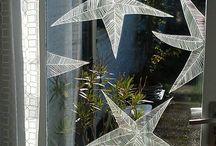 Window white chalk