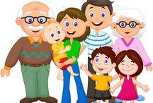 Dibujos Familia