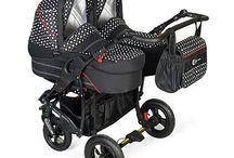 Otroški vozički za dvojčke Sbpoceni / Otroški vozički so namenjeni dvojčkom ali dvema otrokoma, vozički so idealni tudi za otroke različnih starosti. V naši ponudbi najdete vzporedne kot tudi zaporedne vozičke za dvojčke. Otroški voziček je primeren za vsako talno površino